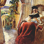 Konstantin Makovsky - At Reading