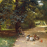 Konstantin Makovsky - In the Park