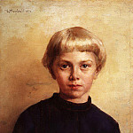 Konstantin Makovsky - Portrait of a boy