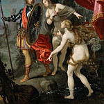 Part 5 Louvre - Giovanni Bilivert -- Carlo and Ubaldo on their way to free Rinaldo, from Torquato Tasso's Gerusalemme Liberata