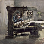 Part 5 Louvre - Vincent van Gogh -- The Weaver (Le Tisserand)