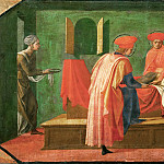 Part 5 Louvre - Francesco Pesellino (c. 1422-1457) -- Saints Cosmas and Damian Treating a Sick Man