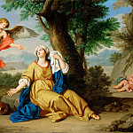 Part 5 Louvre - Giuseppe Bottani -- Hagar and the Angel