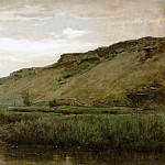 Part 5 Louvre - Charles François Daubigny -- The Valley of Optevoz (Isère)