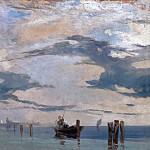 Richard Parkes Bonington -- The Lagoon of Venice, Part 5 Louvre