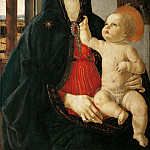 Part 5 Louvre - Domenico Ghirlandaio -- Madonna and Child