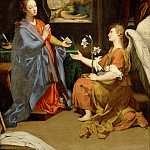 Part 5 Louvre - Sassoferrato (1609-1685) -- Annunciation