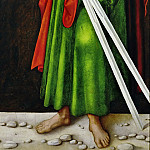 Part 5 Louvre - Lucas Cranach the elder -- Saint Andrew