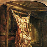 Part 5 Louvre - Rembrandt van Rijn -- Slaughtered Ox