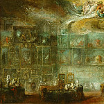 Part 5 Louvre - Gabriel de Saint-Aubin (1724-1780) -- View of the Salon of 1779