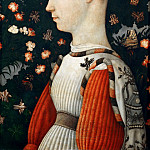 Portrait of an Este Princess, Antonio Pisanello