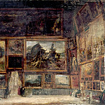 Part 5 Louvre - Nicolas Sébastien Maillot -- View of the Salon Carré of the Louvre in 1831