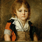 Part 5 Louvre - Jean-Baptiste Greuze (1725-1805) -- Édouard François Bertin as a Child