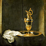 Gerrit Dou -- The Silver Ewer, Part 5 Louvre