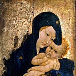 Part 5 Louvre - French School -- Virgin and Child