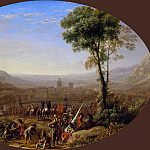 Part 5 Louvre - Claude Lorrain -- Louis XIII takes the pass at Suse in 1629