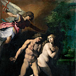 Part 5 Louvre - Giuseppe Cesari, called Cavalier d'Arpino (1568-1640) -- Expulsion from Eden