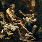 Part 5 Louvre - Alessandro Magnasco -- The Temptation of Saint Anthony