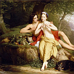 Louis Hersent -- Daphnis and Chloe, Part 5 Louvre