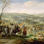 Part 5 Louvre - Peeter Snayers -- Representation presumably of the Battle of the White Mountain near Prague