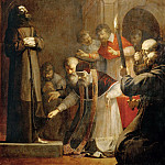 Part 5 Louvre - Laurent de La Hyre (1606-1656) -- Pope Nicholas V Opening the Tomb of Saint Francis of Assisi in 1449