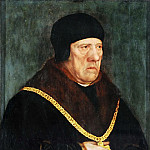 Sir Henry Wyatt, counselor to King Henry VIII of England, Hans The Younger Holbein