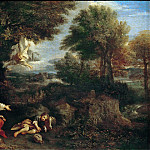 Part 5 Louvre - Pier Francesco Mola -- The Angel appears to Hagar in the Desert