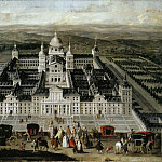 Part 5 Louvre - Spanish School -- View of the Escorial Palace