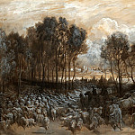 Part 5 Louvre - Gustave Doré -- Gathering of the herd in the Bois de Boulogne