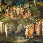 Part 5 Louvre - Rosso Fiorentino (1494-1540) -- Challenge of the Pierides (Muses)