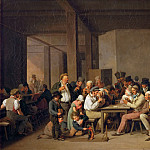 Part 5 Louvre - Louis Léopold Boilly (1761-1845) -- Scene in a Tavern