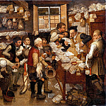 Part 5 Louvre - Pieter Brueghel II -- Tax Collector