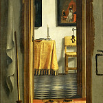 Part 5 Louvre - Samuel van Hoogstraten (1627-1678) -- Slippers (Dutch Interior)