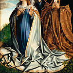 Part 5 Louvre - Colijn de Coter -- Saint Mary interceding for Juana la Loca
