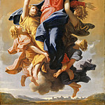 Part 5 Louvre - Nicolas Poussin -- Assumption of the Virgin