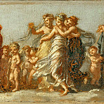 Marriage of Hebe and Hercules, allegory on the marriage of Napoleon I and Marie-Louise, Pierre-Paul Prudhon