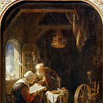 Part 5 Louvre - Gerrit Dou -- The Bible Lecture, or Anne and Tobit