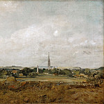 Part 5 Louvre - John Constable -- View of Salisbury