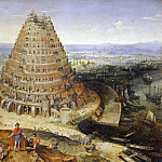 Part 5 Louvre - Lucas van Valckenborch -- The Tower of Babel