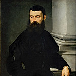Attributed to Jacopo Tintoretto -- Portrait of a Gentleman, Part 5 Louvre