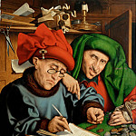 Part 5 Louvre - Marinus van Reymerswaele (c. 1490-c. 1567) -- Two Tax Collectors