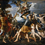 Part 5 Louvre - François Perrier -- Aeneas and his companions battling the Harpies