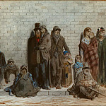 Part 5 Louvre - Gustave Doré -- Scene on the street in London