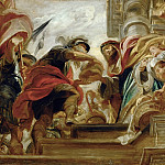 Part 5 Louvre - Peter Paul Rubens -- Abraham and Melchizedek, King of Salem