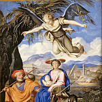 Part 5 Louvre - French or German School -- Flight into Egypt