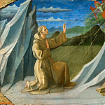 Part 5 Louvre - Francesco Pesellino (c. 1422-1457) -- Saint Francis of Assisi Receiving the Stigmata