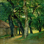 Part 5 Louvre - Pierre Henri de Valenciennes -- Forest of the Villa Borghese