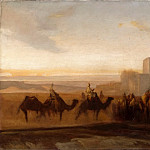 Part 5 Louvre - Alexandre-Gabriel Decamps -- The Caravan