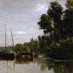 Part 5 Louvre - Charles François Daubigny -- The Canal Boats