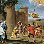 Stoning of Saint Stephen, Annibale Carracci